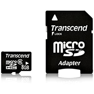 Transcend 8 GB microSDHC Class 6闪存