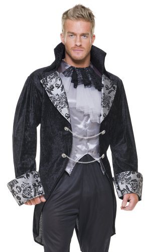 Charades Adult Mens Sexy Vampire Dracula Halloween Costume