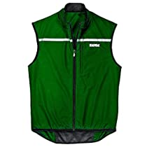 """TAIGA Cycle Vest - Wind and Water Repellent Cycling Vest, Pine, MADE IN CANADA, X-Large (chest: 45.5"""")"""