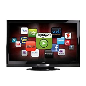 VIZIO XVT373SV 37-Inch Full HD 1080P LED LCD HDTV 120 HZ with VIA Internet Application, Black