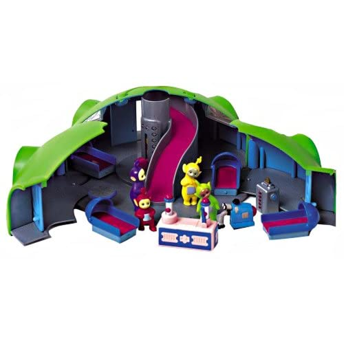 teletubbies home hill playset tubbytronic superdome rare