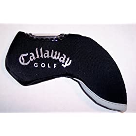 10pc set Callaway Logo Black Neoprene Iron Covers