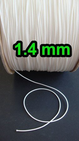 Great Features Of Roll of 100 Yards Shade Cord (Or Lift Cord) 1.4 Mm