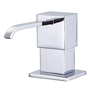 Danze D495944 Sirius Deck Mount Soap and Lotion Dispenser, Chrome