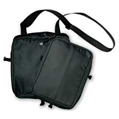 Messenger Bag with Detachable Cover Black LG