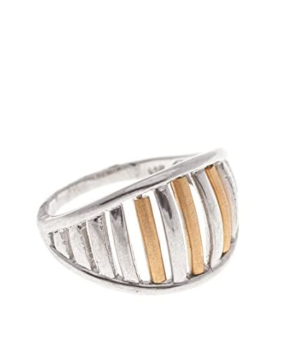 GOLD & DIAMOND Anillo Julia Plata
