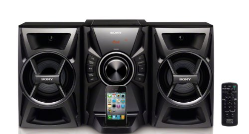 Sony MHCEC609ip iPhone & iPod Shelf System