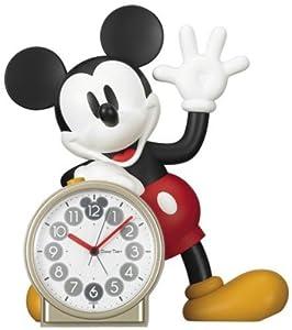 セイコークロック Disney (ディズニータイム) 目覚し時計 ミッキーマウス おしゃべり FD450A