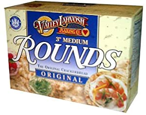 Valley Lahvosh Rounds, 3 inch, 4.5oz