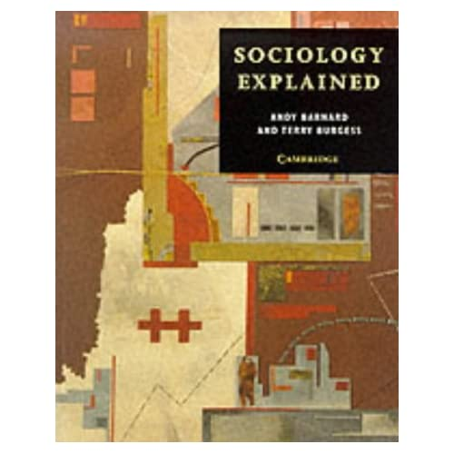 sociology explained amazon co uk andy barnard terry