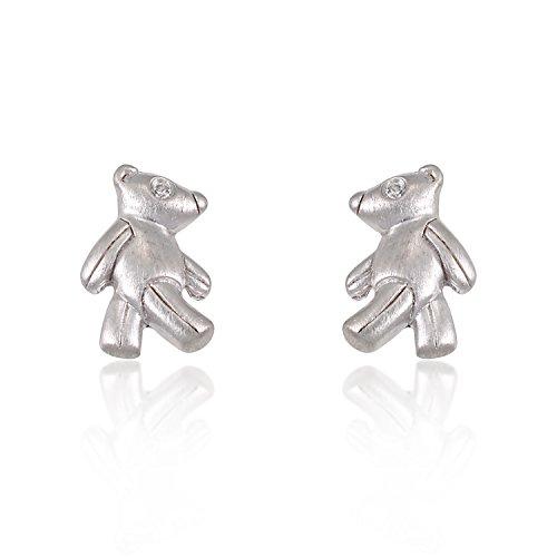 childrens-925-sterling-silver-walking-teddy-bear-10-mm-post-stud-earrings
