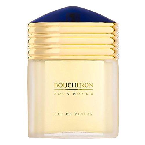 Boucheron per Uomo Cofanetto - 100 ml Eau de Parfum Spray + 100 ml Dopobarba Balm + 100 ml Gel Doccia