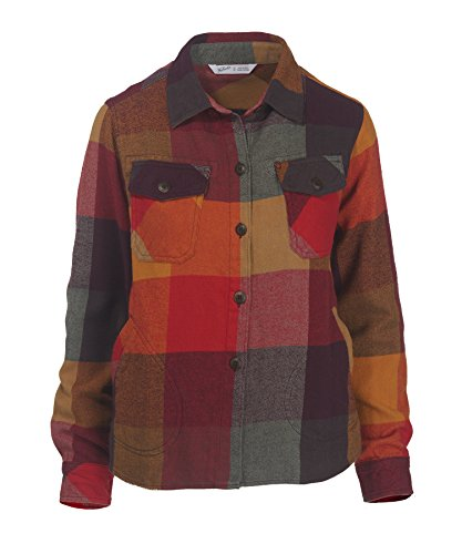 woolrich-womens-oxbow-bend-chunky-flannel-shirt-old-red-multi-small