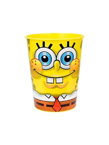 SpongeBob Squarepants Classic 17 oz. Stadium Cups 12 Pack - 1