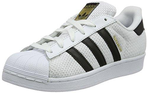 Adidas Superstar J Schuhe running white-core black-running white - 36 2/3