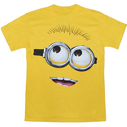Despicable Me Minion Big Face Adult T-Shirt