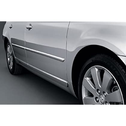 4PC PAINTED BODY SIDE MOLDINGS FITS 2012 2013 2014 2015 BUICK VERANO