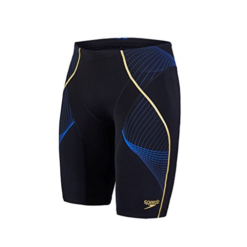 speedo-mens-fit-pinnacle-jammer-black-deep-peri-global-gold-size-32