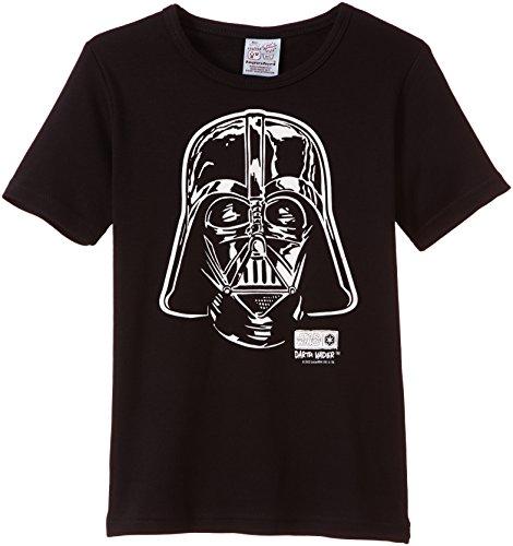 Logoshirt - Star Wars Darth Vader portrait, T-shirt per bambini e ragazzi, Black, 10