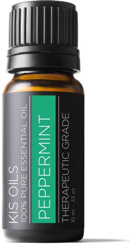 Peppermint 100% Pure Essential Oil Therapeutic Grade- 10 Ml (Peppermint, 10ml)