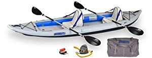 Buy Sea Eagle Fast Track 2-Person Inflatable Kayak Deluxe Package (385-Feet 12-Feet 6-Inch) by Sea Eagle