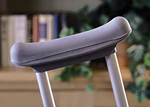 Medline G00018 Guardian Underarm Crutch Cushion, Gray from Medline