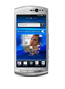 Sony Ericsson Xperia neo V Smartphone (Touchscreen, 5 Megapixel Kamera, Email-Funktion) silver