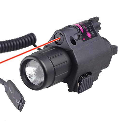 Best Prices! VERY100 Red Laser with 200 Lumen Tactical Flashlight