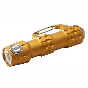 ICON Link Carabiner L.E.D. Flashlight - Orange