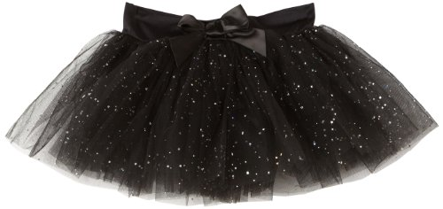 Capezio Little Girls' Tutu Skirt W/ Glitter Tulle,Black,S