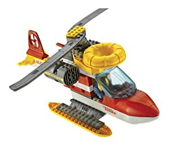 Tonka Search & Rescue building set- EMERGENCY RESCUE COPTER