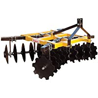 King Kutter Box Frame Disc Harrow - 6 1/...