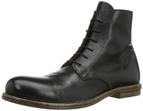 MOMA Mens derby boot Boots Black Schwarz (nero) Size: 9 (43 EU)
