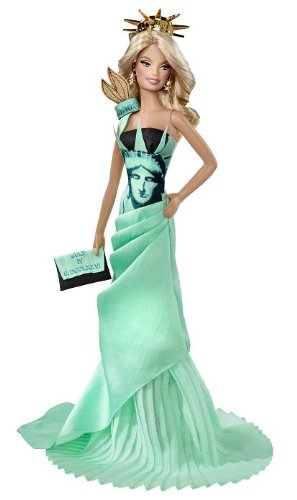 Barbie Collector # T3772 Statue of Liberty online bestellen