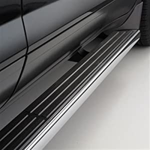 GM # 19170424 Assist Steps/Running Boards/Step Bars - Chrome Finish with Slate Step Pad