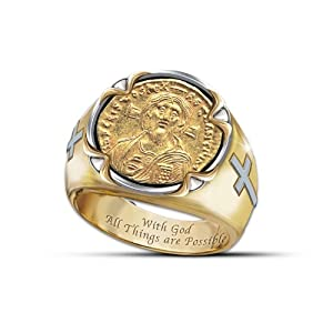 s ring of faith coin ring by the