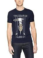 Trussardi Collection Camiseta Manga Corta (Azul Marino)