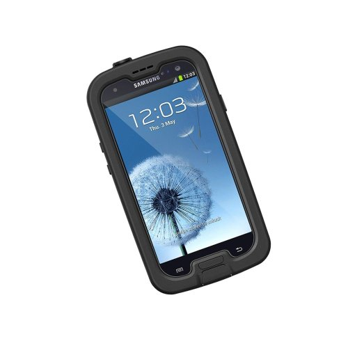 Lifeproof Nuud Series Samsung Galaxy S3 Case-(Black)