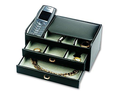 budd-leather-2-drawers-leather-dresser-valet-black