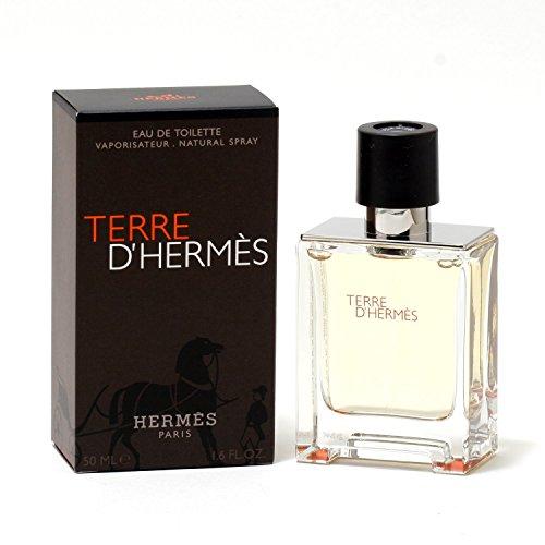 Hermes Terre d'Hermes Eau de Toilette, Uomo, 50 ml