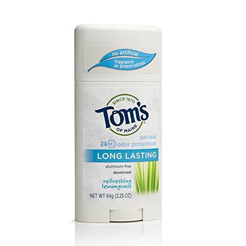 Tom S Of Maine Natural Long Lasting Deodorant Stick Refreshing Lemongrass