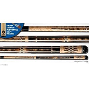 Viking V173K 21 oz. Billiard cue pool stick NEW ViKORE low deflection shaft from Dart... by Dart Brokers