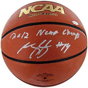Michael Kidd-Gilchrist signed Wilson Final Four NCAA Indoor Outdoor Basketball 2012... by Athlon+Sports+Collectibles