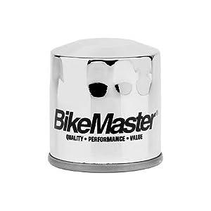 2007-2010 Kawasaki ZX600P Ninja ZX6R Motorcycle Engine Oil Filter [Chrome]