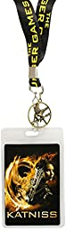 Hunger Games Girl On Fire Katniss with Pin Lanyard