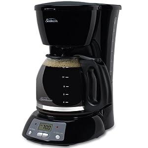 Amazon Com Sunbeam Tgx24 12 Cup Programmable Coffeemaker