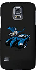 Coveroo Thinshield Cell Phone Case for Samsung Galaxy S5 - Batman with Batmobile at Gotham City Store