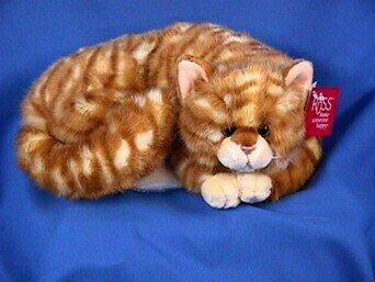 Plush Orange Striped Cat - Buy Plush Orange Striped Cat - Purchase Plush Orange Striped Cat (Russ Berrie, Toys & Games,Categories,Stuffed Animals & Toys,Animals)