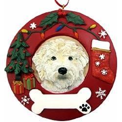 E S Pets Labradoodle Personalized Christmas Ornament 9e6359f25
