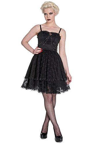 Spin Doctor dell'abito ZYLPHIA DRESS 4367 nero XX-Large